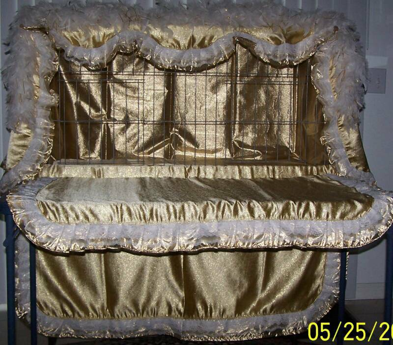 Show Cage Curtains & Feather Boas - visions international home page